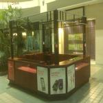 10' x 15' indoor kiosk, size can be adjusted!